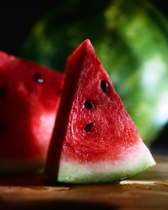 cool, juicy wege of watermelon for hot summer days